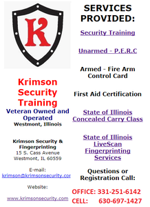 Krimson Security and Fingerprinting