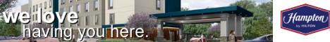 Hampton Inn & Suites -  PLATINUM LEVEL SPONSOR