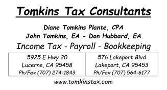 Tomkins Tax Consultants