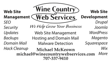 Wine Country Web Services