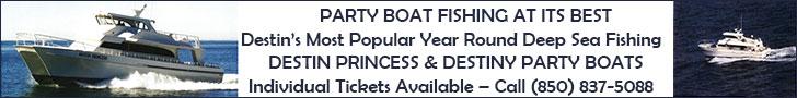 Destin Princess and Destiny - Party Boats