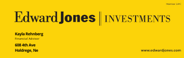 Edward Jones, Kayla Rehnberg Financial Advisor