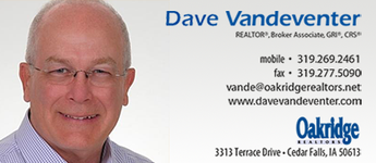 Vandeventer, Dave, Realtor/Broker Associate