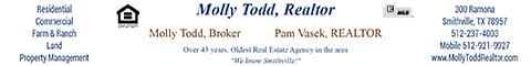 Molly Todd, Realtor