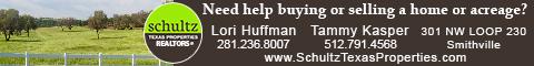 Lori Huffman & Tammy Kasper - Schultz Texas Properties