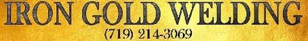 Iron Gold Welding