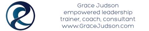 Grace Judson - leadership development