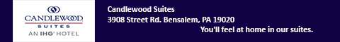 Candlewood Suites Bensalem Philadelphia Area