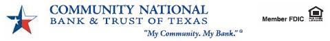 Community National Bank & Trust of Texas