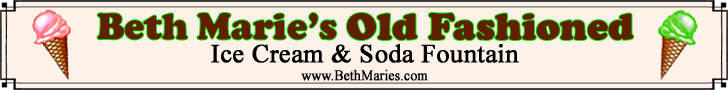 Beth Marie's Old Fashion Ice Cream- Courthouse Square