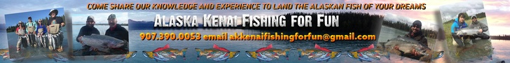 Alaska Kenai Fishing for Fun