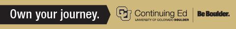 University of Colorado Boulder - Continuing Education