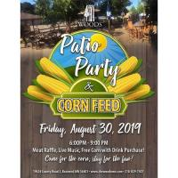 The Woods Patio Party & Corn Feed!