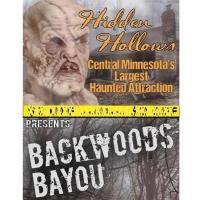 Paul Bunyan Land Haunted Hollows- Backyard Bayou