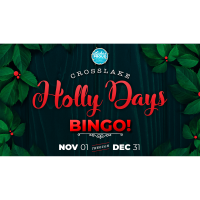 Crosslake Holly Days Bingo