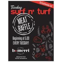 Surf & Turf Meat Raffle at B.Merri