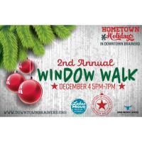 Hometown Holidays Downtown Brainerd Window Walk