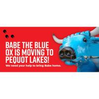 Babe the Blue Ox is Moving to Pequot Lakes!