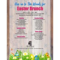 Easter Brunch at The Woods