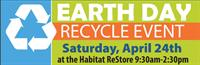 Earth Day Recycle Event