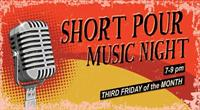 Short Pour Music Night (Open Mic) at Jack Pine Brewery