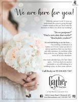 Brides! Need help Rescheduling? Call Gather on 3 and The Woods Ceremony Site!
