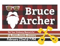 Bruce Archer at Roundhouse Brewery