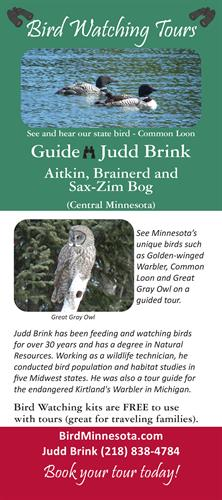 New Bird Watching Tour Flyer