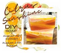 Citrus Sunshine DIY Soap