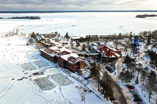 Winter at Breezy Point Resort