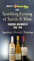 Baxter Sparkling Evening of Spirits & Wine