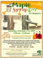 Maple Syrup Day for Beginners