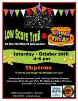 Low Scare Trail and Trunk or Treat at the Northland Arboretum