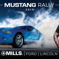 Mustang Rally at Mills Ford