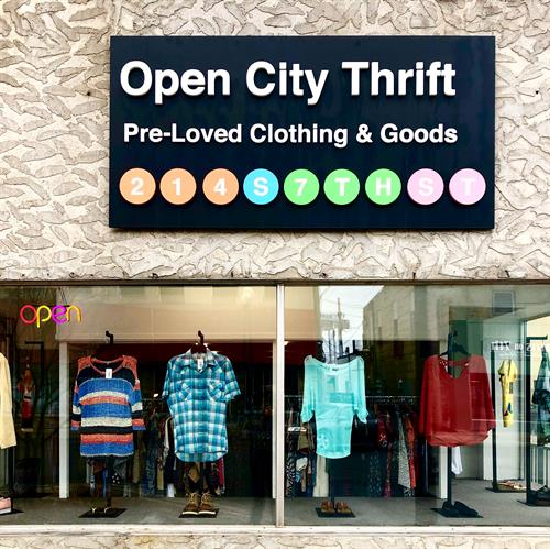 Our storefront: 214 S 7th Street, DOWNTOWN BRAINERD!