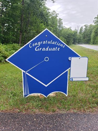 Graduation Hat with keepsake scroll