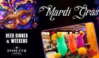Mardi Gras Weekend at Grand View Lodge!
