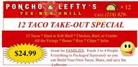 Poncho and Lefty's - Baxter