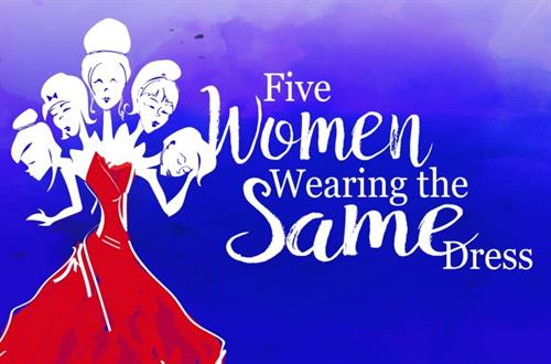 five women wearing the same dress pdf