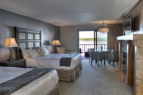 New guest rooms overlooking Gull Lake