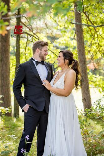 Location wedding Photography on Whitefish Lake