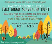 Fall Scavenger Hunt BINGO