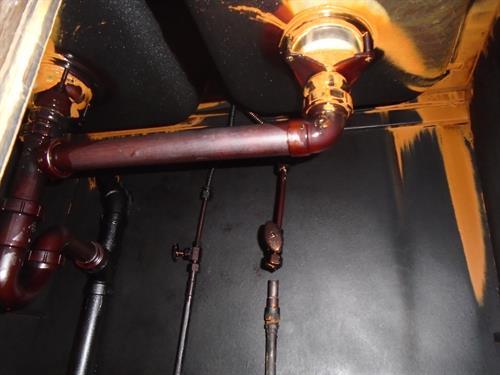 Pipe burst in Brainerd fills basement with water.
