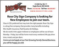 Rose City Inc.