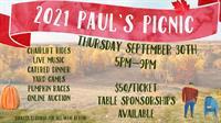 Paul's Picnic (2021 Mount Ski Gull Fall Fundraiser)