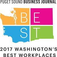 Best Workplace, Puget Sound Business Journal