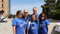 Regional Management Team at charity fundraiser BBQ