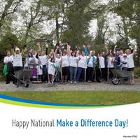 CB Volunteers at National Make a Difference Day
