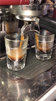 Rich, dark espresso drinks hand crafted to order.
