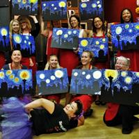 Meet friends and make friends at our fun paint parties.